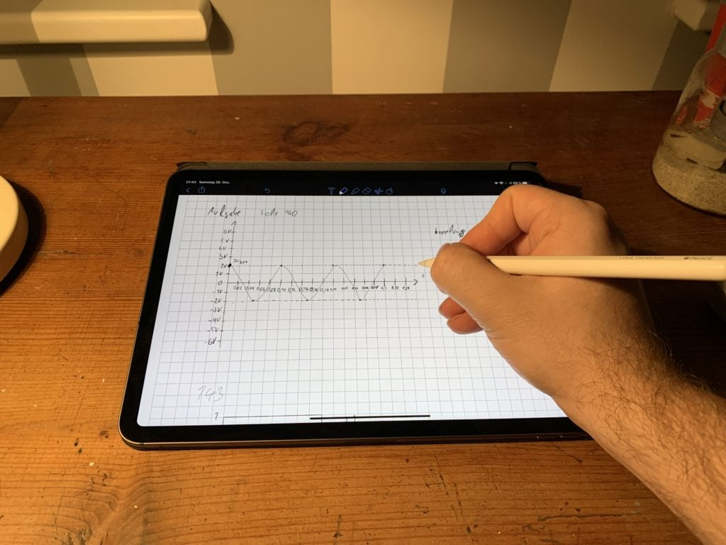iPad Pro 11 Zoll mit Apple Pencil 2