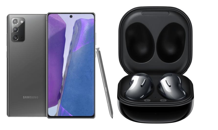 Samsung Note20, Galaxy Buds und weitere Produkte auf einen Blick