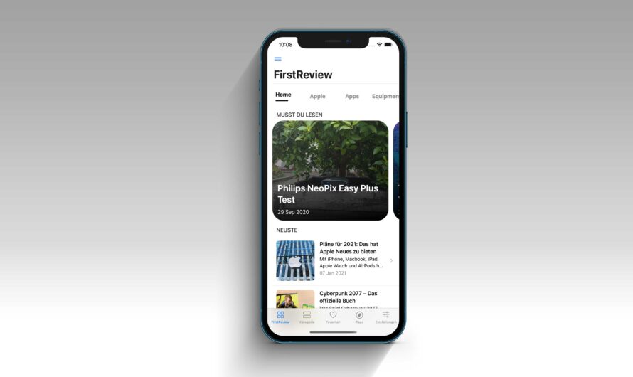 iOS-App: FirstReview released Version 2.0
